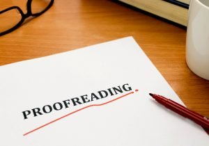 Proofreading Academic Paper