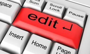 Thesis Editing Tips